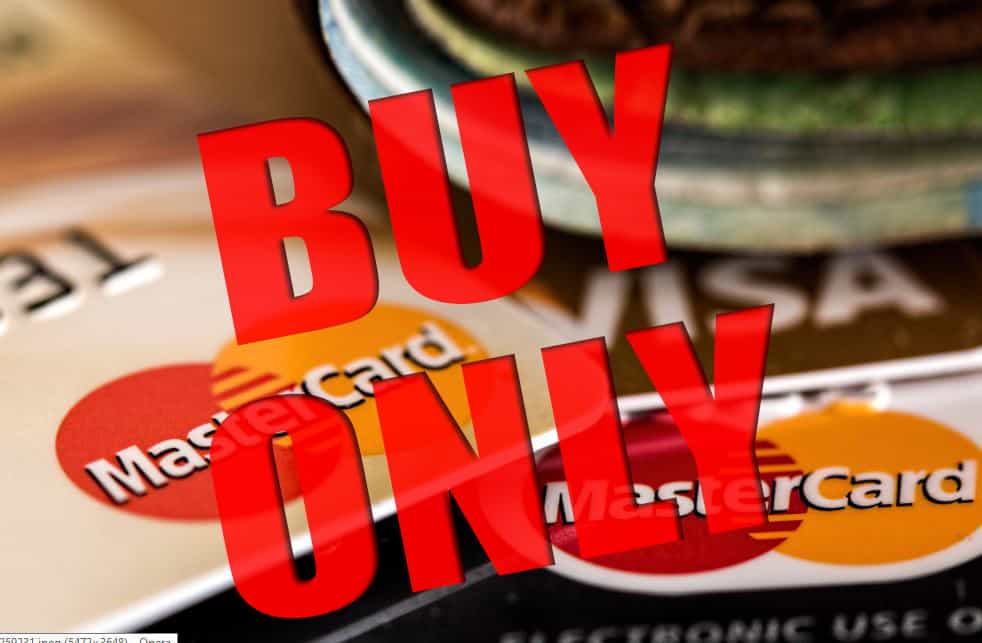 buy only