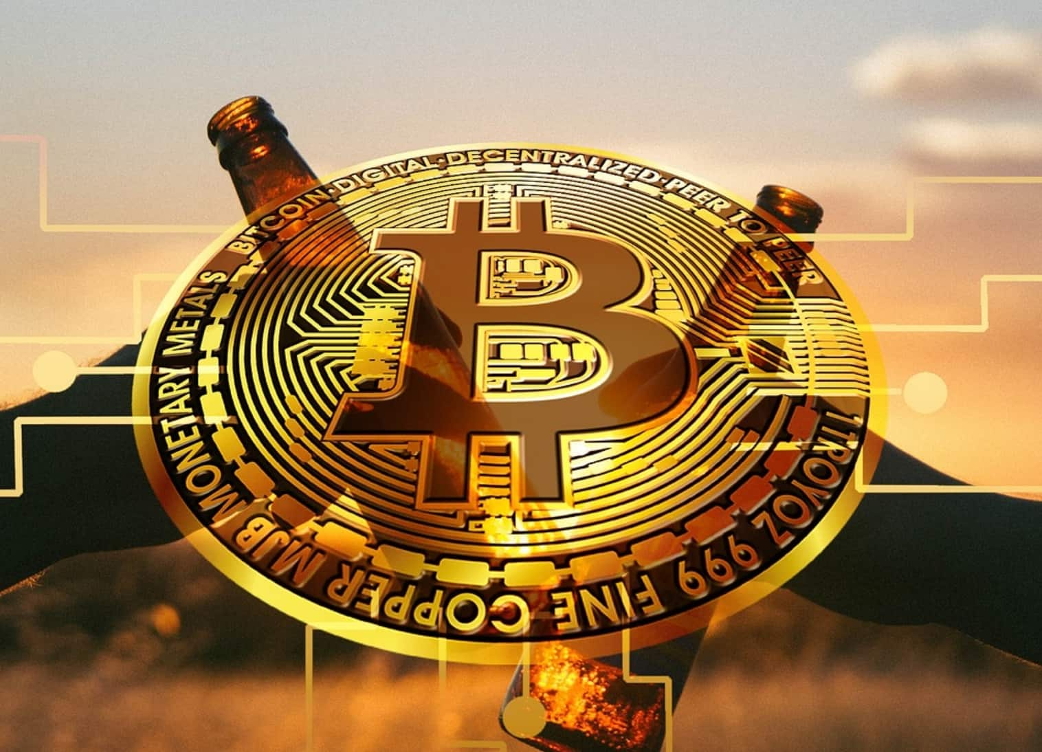 cheers for bitcoin and other cryptos