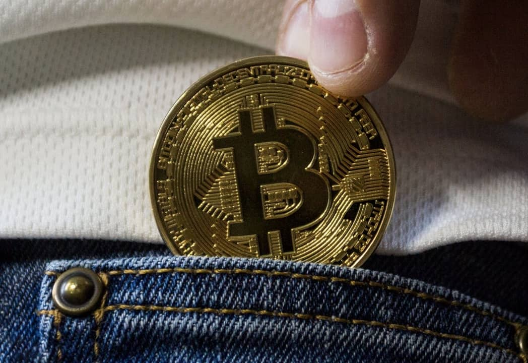 bitcoin put on the wallet